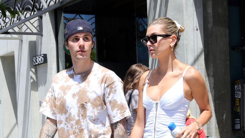 Justin Bieber und Frau Hailey