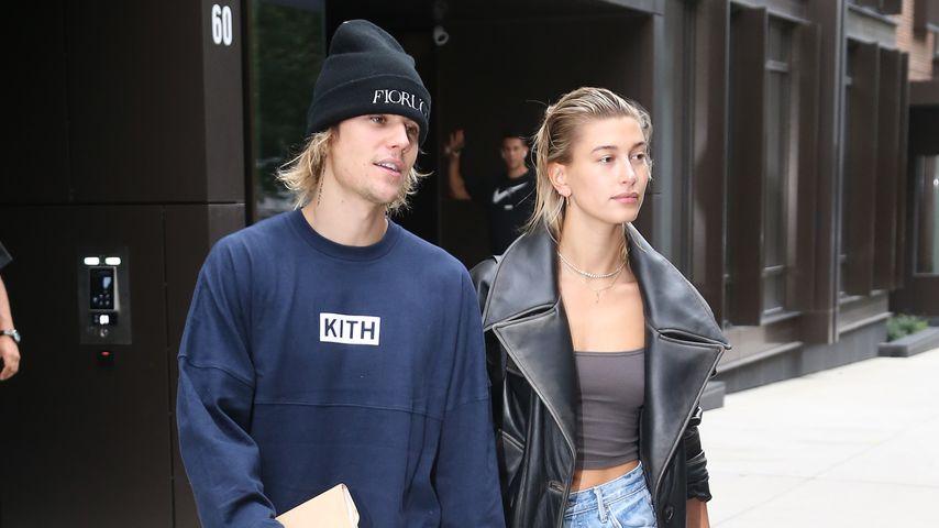 Nach Hochzeits-Gerüchten: Justin Bieber & Hailey in New York