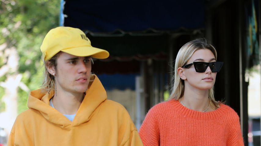 Justin Bieber und Hailey Baldwin in Los Angeles