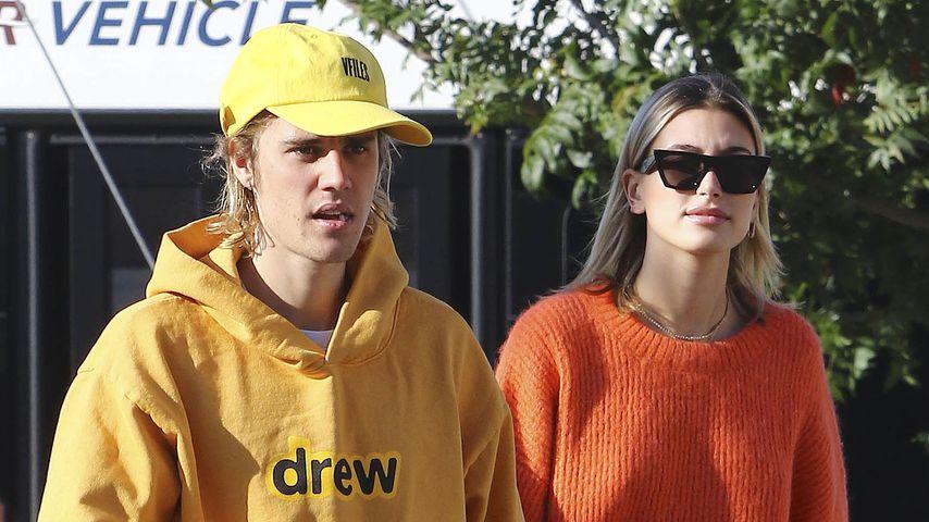 Justin und Hailey Bieber in Los Angeles