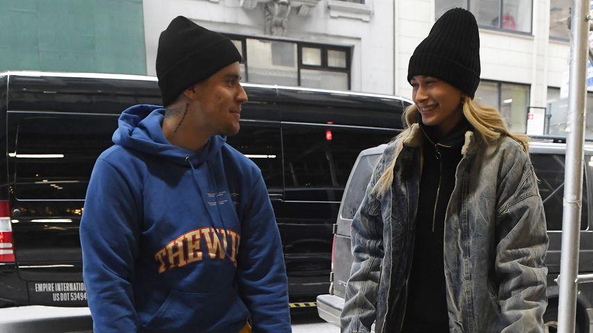 Justin Bieber und Hailey Bieber in New York City