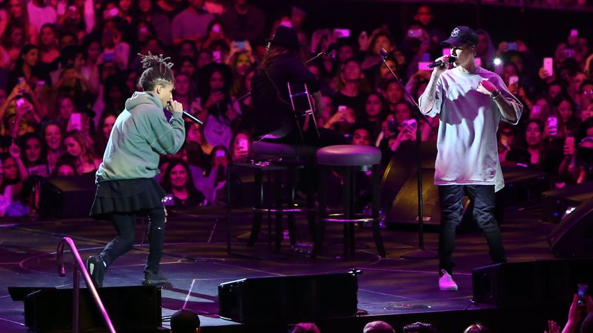 Justin Bieber und Jaden Smith