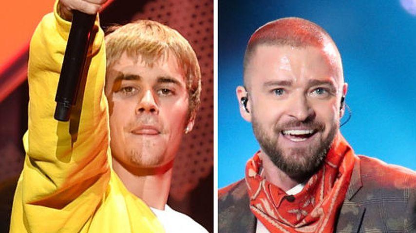 Justin an Justin: Bieber ehrt Timberlakes Super-Bowl-Show