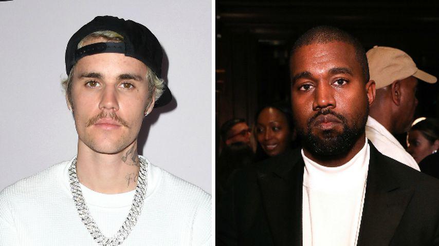Überraschungs-Auftritt: Justin Bieber in Kanyes Gottesdienst