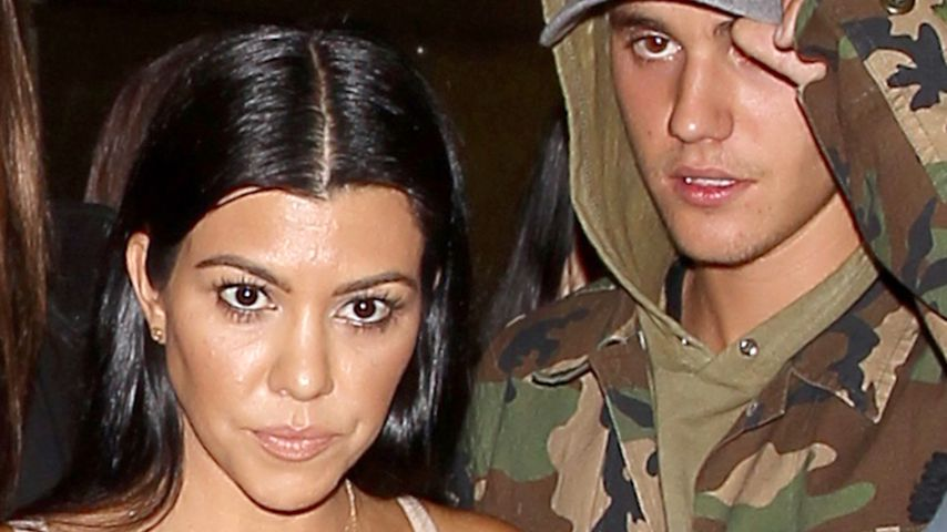 Frauen-Held: Justin Bieber & Kourtney Kardashian beim Dinner