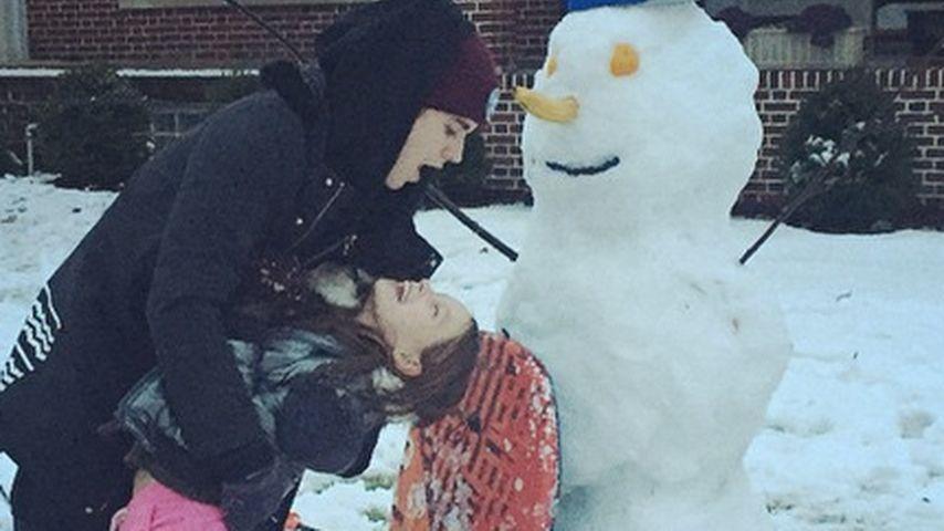 Im Schnee: Justin Bieber zeigt seine wahre Liebe