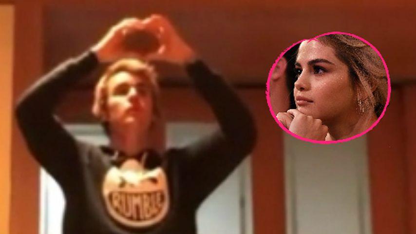 Justin Bieber emotional: Ist dieses Herz für seine Selena?