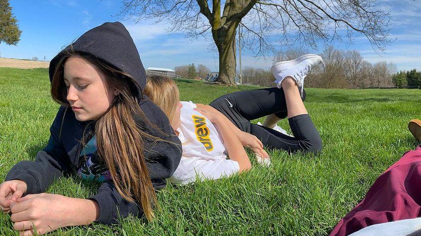 Justin Biebers Schwestern Jazmyn und Allie im Mai 2020