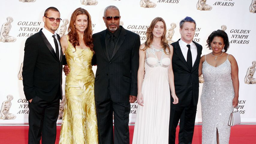 Justin Chambers, Kate Walsh, James Pickens Jr., Ellen Pompeo, T.R. Knight und Chandra Wilson 2006