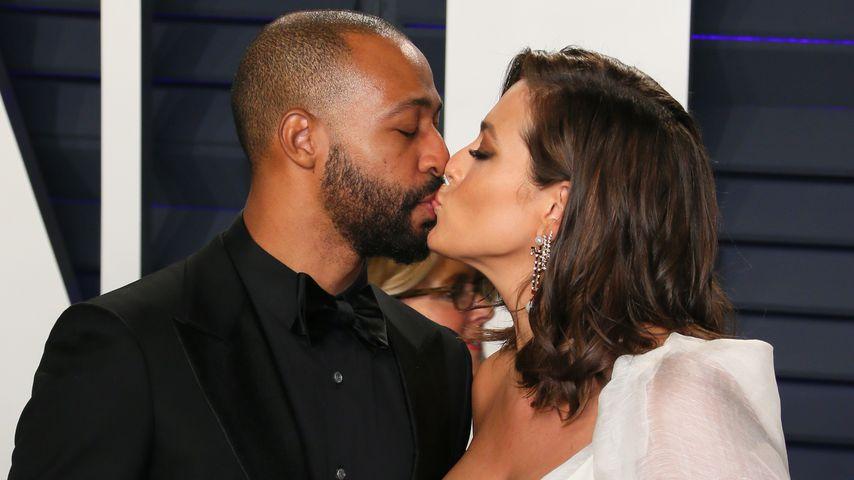Ashley Graham und ihr Ehemann Justin Ervin
