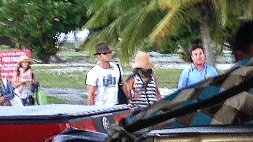 Jennifer Aniston & Justin: 1. Flitterfoto aus Bora Bora