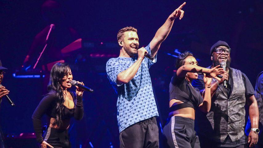 Nach Schul-Schießerei: Justin Timberlake besucht Überlebende