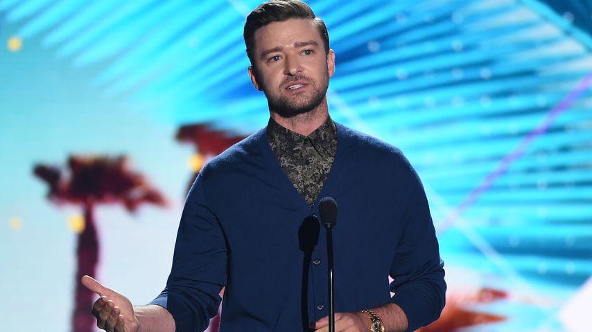 """Whoa"": Justin Timberlakes Liebeserklärung an seine Familie"