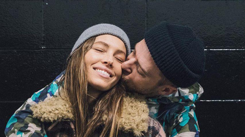 Süßer Liebespost: Justin Timberlake gratuliert Jessica Biel