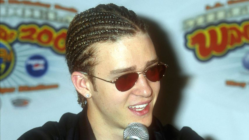 Justin Timberlake in Los Angeles 2000