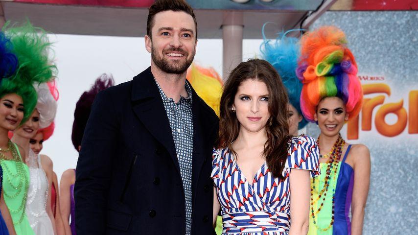 Justin Timberlake und Anna Kendrick beim Filmfestival in Cannes 2016