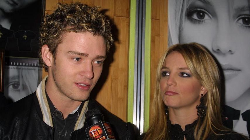 """Justin Timberlake und Britney Spears bei der """"Crossroads""""-Premiere"""