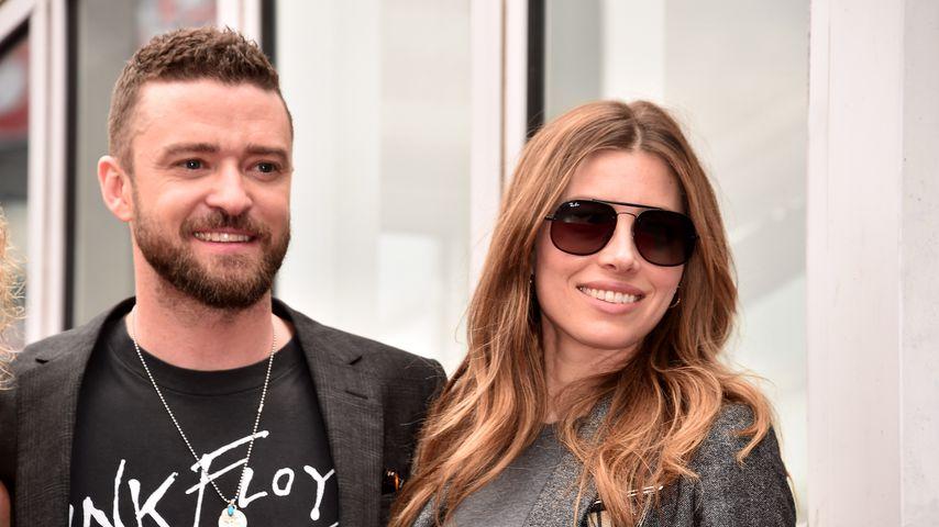 Justin Timberlake und Jessica Biel in Los Angeles