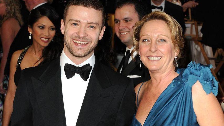 Justin Timberlake und seine Mutter Lynn Harless