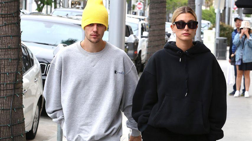 Justin & Hailey: Teure Shopping-Tour im XXL-Schlabber-Look