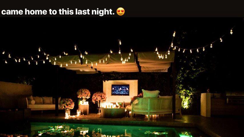 Justin und Hailey Biebers Garten