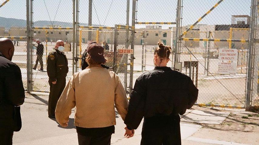 Justin und Hailey Bieber bei einem Gefängnisbesuch