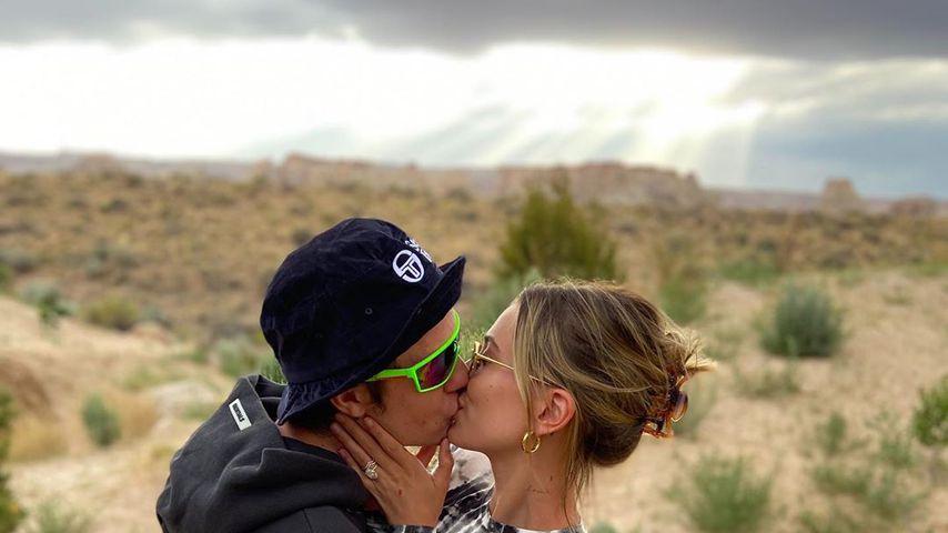 Justin und Hailey Bieber im Juni 2020