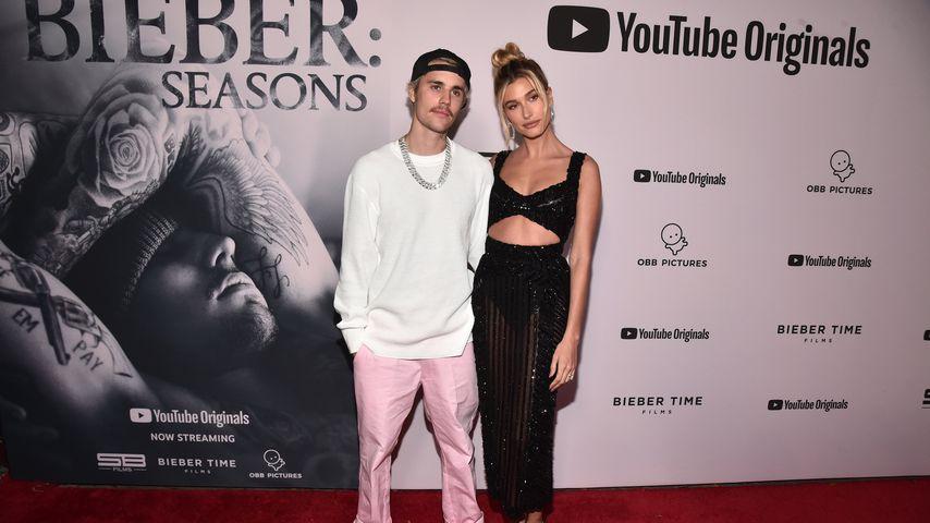 Justin und Hailey Bieber im Januar 2020