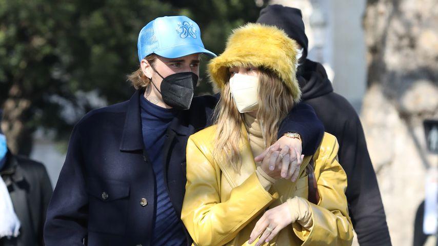 Justin Bieber und Frau Hailey, Februar 2021