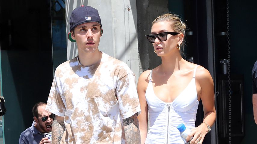 Justin und Hailey Bieber in Hollywood