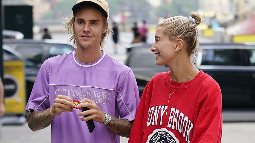 Justin und Hailey Bieber, Juli 2018