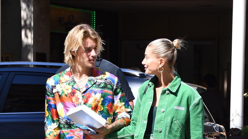 Justin und Hailey Bieber in Beverly Hills