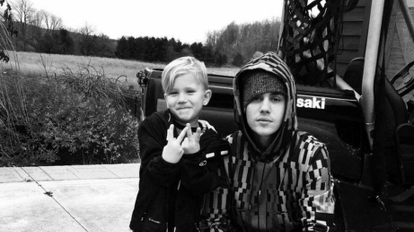 Zum Verwechseln: Justin Bieber & Jaxon als süße Lookalikes