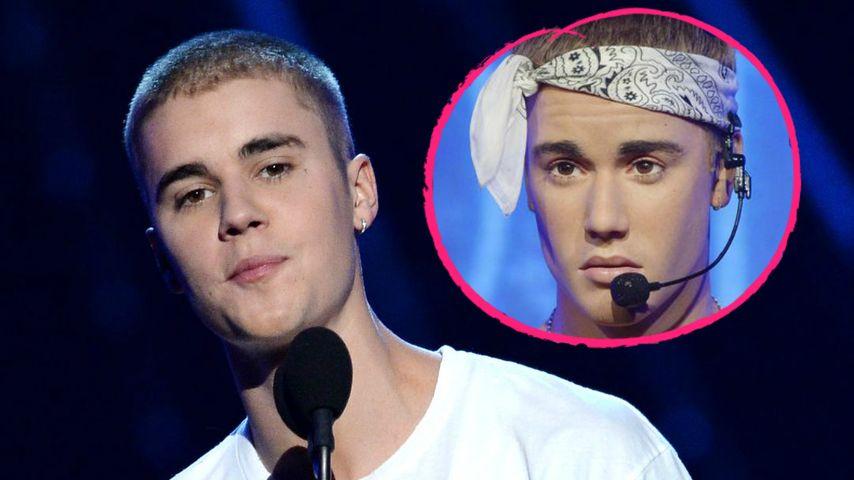 Mit nassem Wachs-Brettbauch! Das soll Justin Bieber sein?