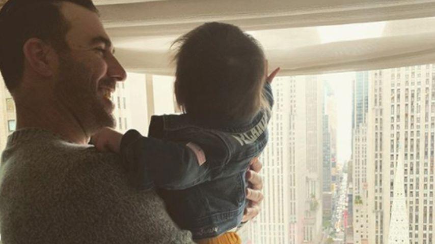 Justin Verlander und Tochter Genevieve