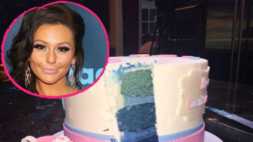 """""""Jersey Shore""""-JWoww verrät Baby Geschlecht mit einer Torte"""