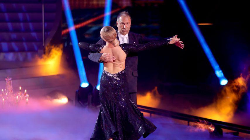 """Kai Ebel und Kathrin Menzinger in der Kennenlernshow von """"Let's Dance"""""""