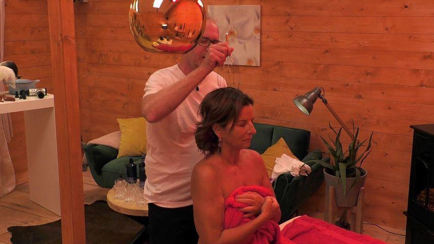 Kai Fischer und Claudia Obert beim Massage-Date