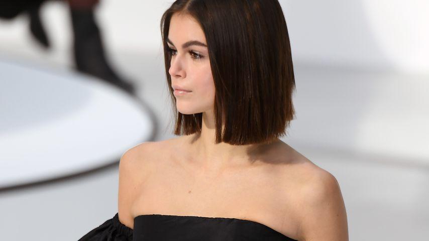 Kaia Gerber bei der Paris Fashion Week 2020
