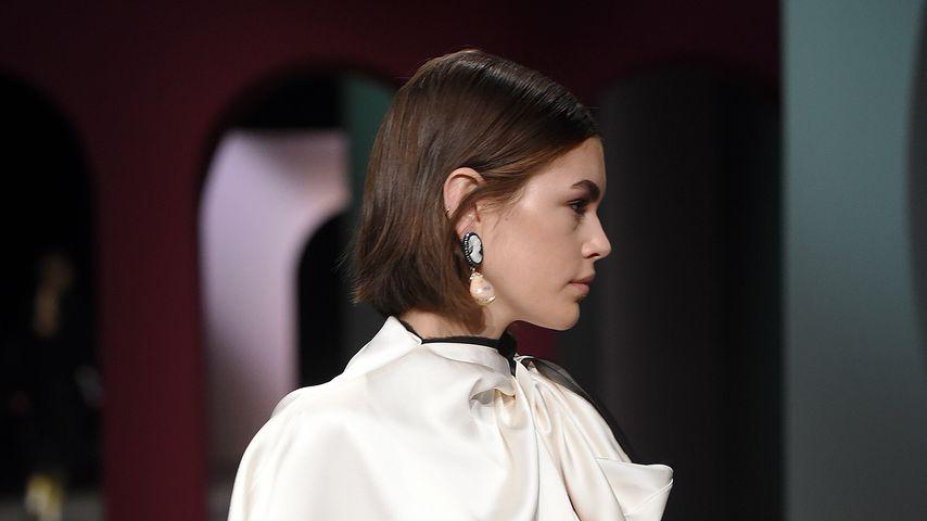 Kaia Gerber im Februar 2020 in Mailand