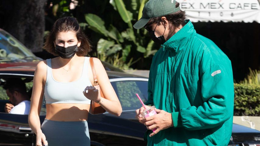 Kaia Gerber und Jacob Elordi  in West Hollywood im November 2020