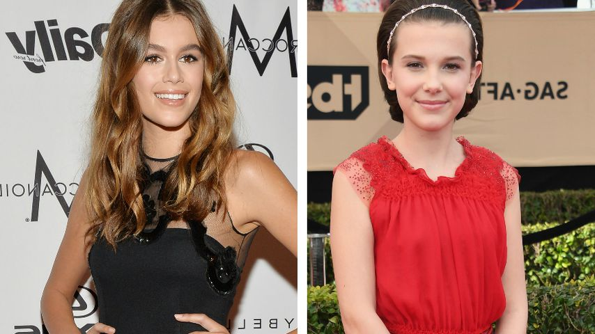 13-jähriges Idol: Kaia Gerber eifert diesem Serien-Star nach