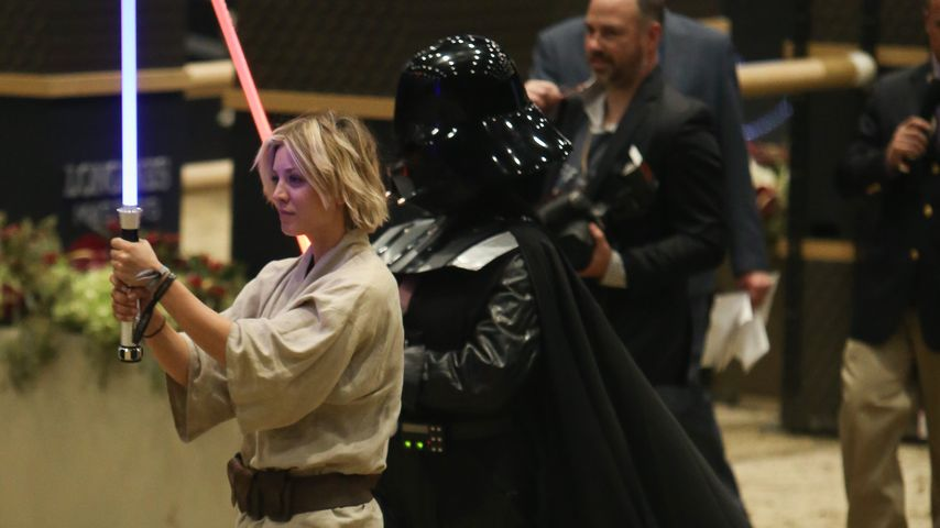 Kaley Cuoco: Mit Jedi-Power gegen den Trennungs-Frust