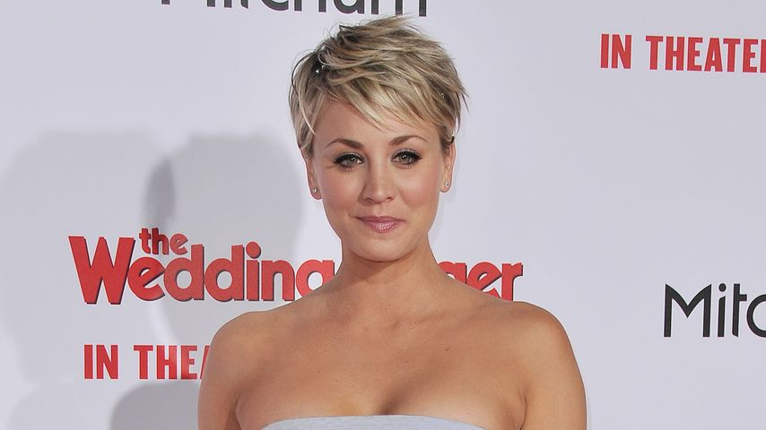 Hups! Red Carpet-Fauxpas bei Kaley Cuoco