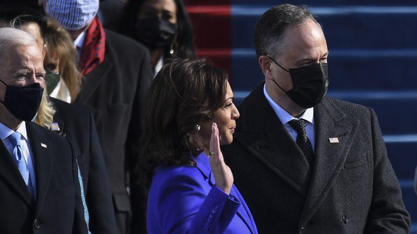 Kamala Harris bei der Amtseinführung von Joe Biden in Washington D.C. im Januar 2021