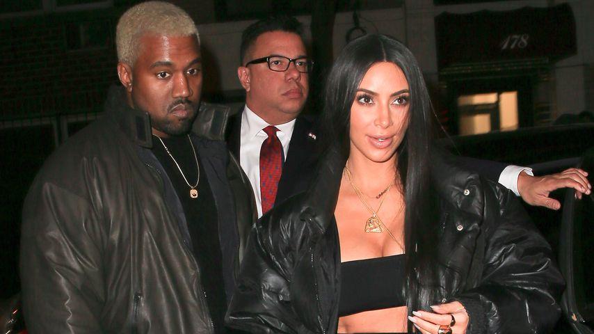 Beerdigung von Avery (†1):  Kim & Kanye trauern am Grab