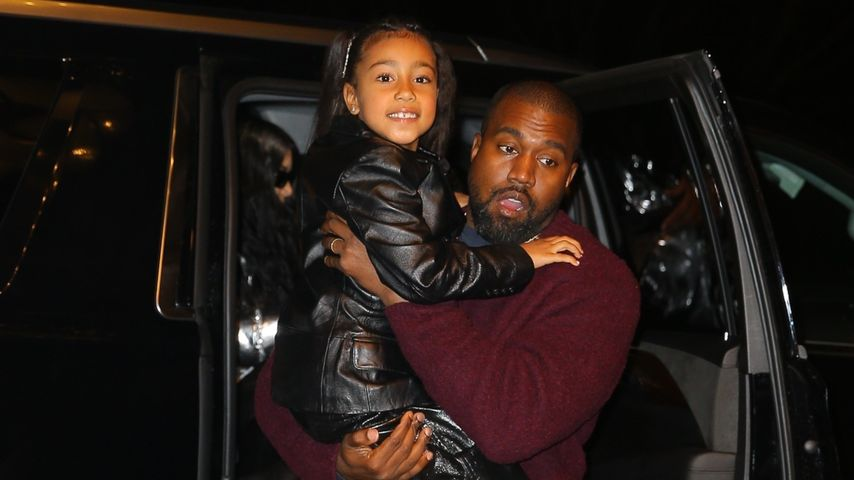 Nach Kanyes Verbot: Darf North (7) sich wieder schminken?