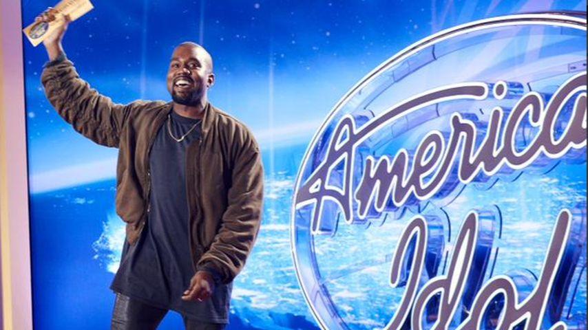 """Crazy! Kanye West singt bei """"American Idol"""" vor"""