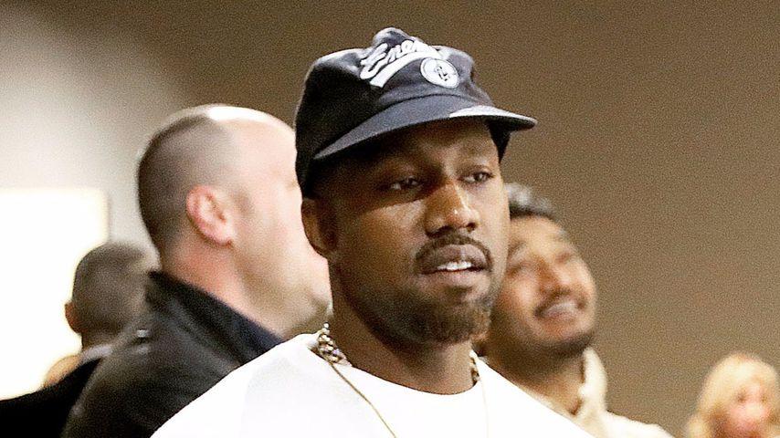 Kanye West bei einer MOCA-Veranstaltung