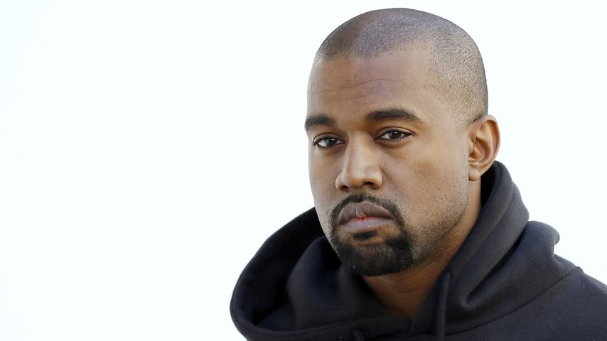 Kanye West bei einer Modenschau in Paris